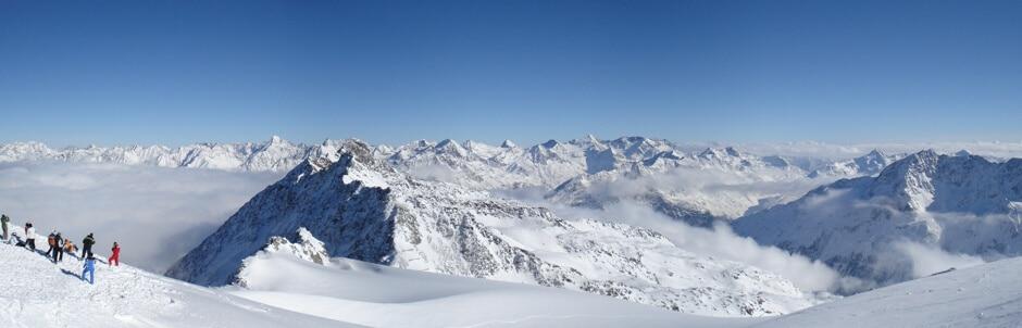 panorama foto alpen