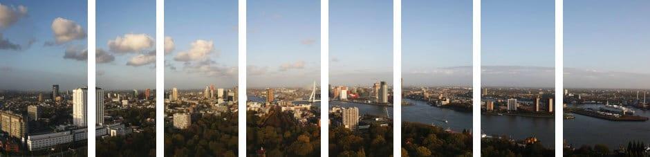 panorama foto overlap