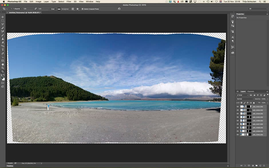 panorama foto photoshop