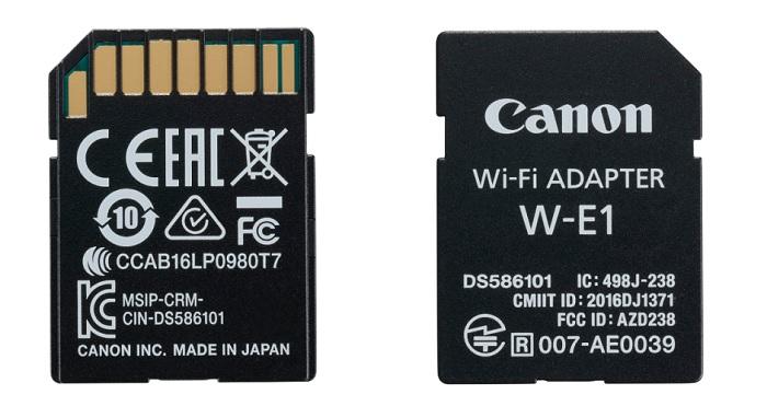 canon Wi-Fi Adapter W-E1 bij thijs schouten fotografie