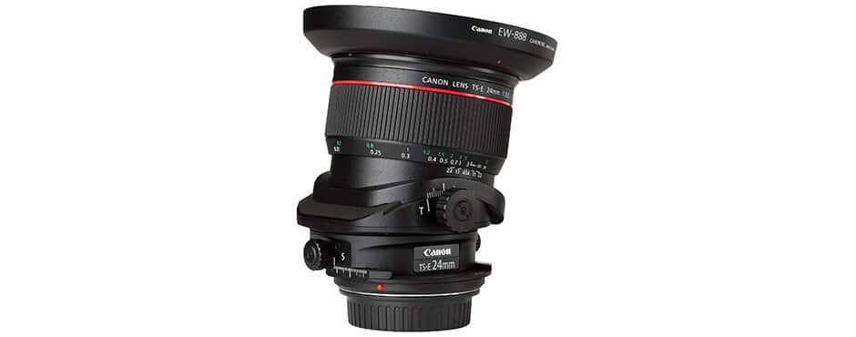 Canon tilt shift lens