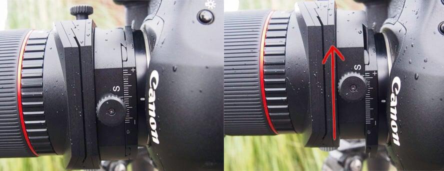 lens shiften