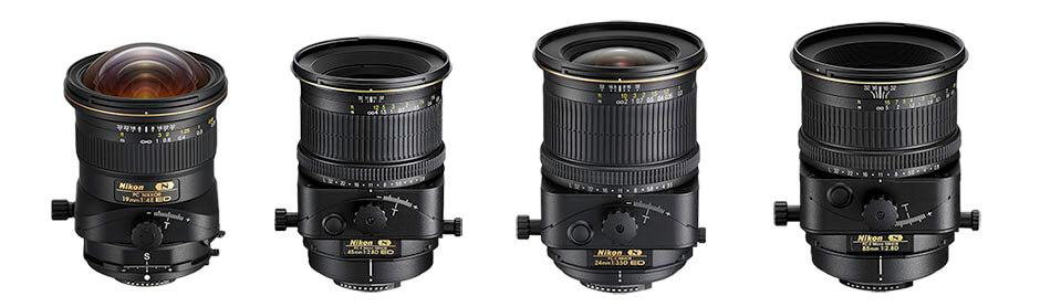 Nikon tilt shift lens