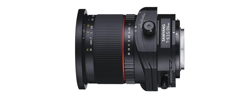 Samyang Tilt shift lens