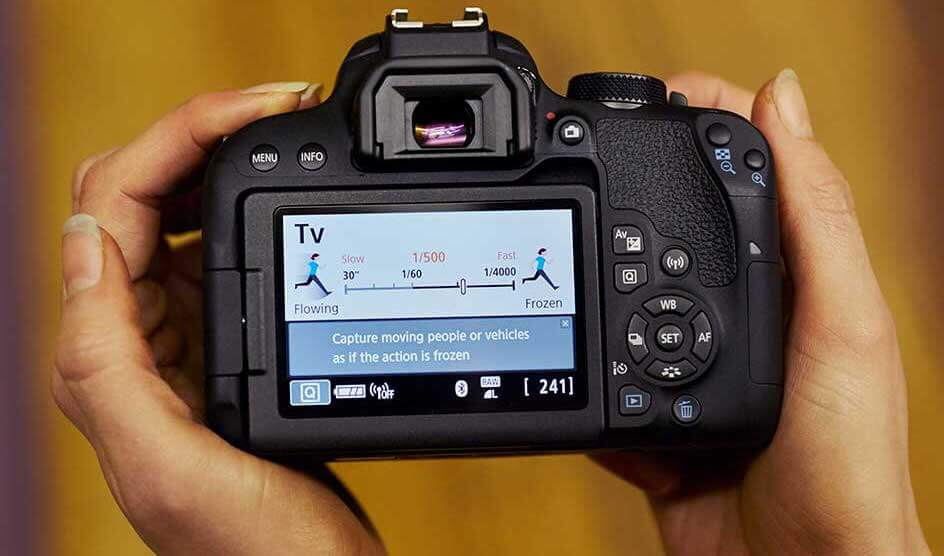 Ideale spiegelreflexcamera voor beginners
