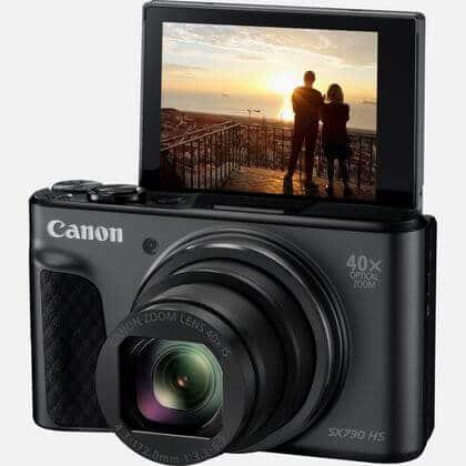 Canon SX730 kantelbaar scherm