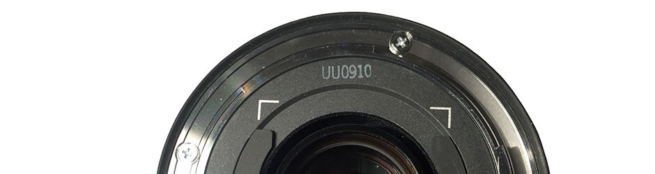 wanneer is mijn canon lens gemaakt